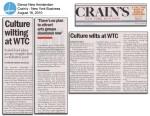Culture Wilting at WTC