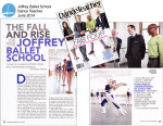 The Fall and Rise of the Joffrey Ballet School